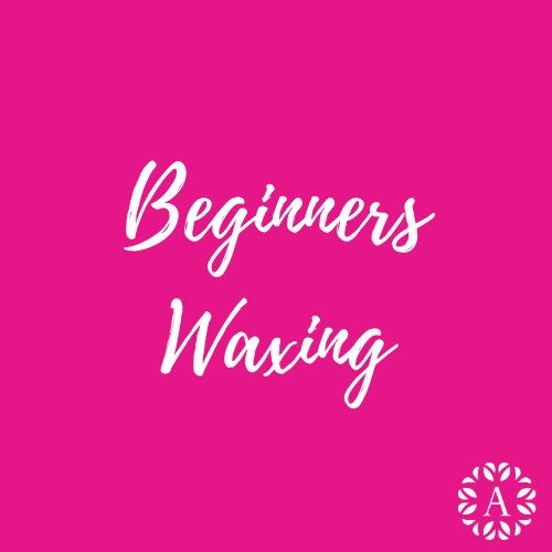Pink Course Title Page for Beginners Waxing Course at Ambitions