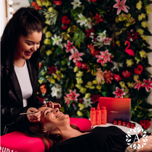 Henna brow training within the Ambitions Beauty Academy