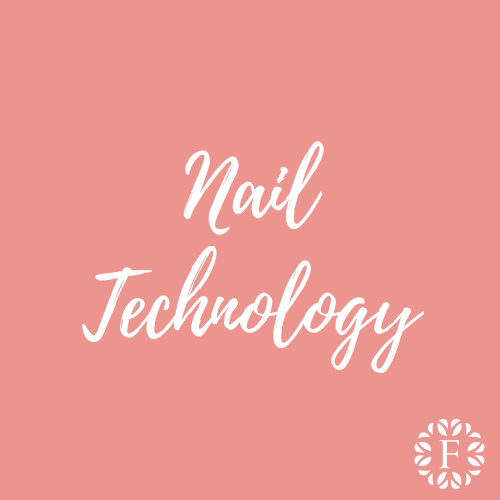 Light Pink Course Title Page for Nail Technology at Foundations Nail and Beauty Academy