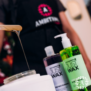 Waxing products used for training courses